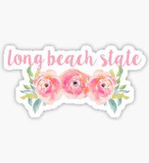 Long Beach State Sticker