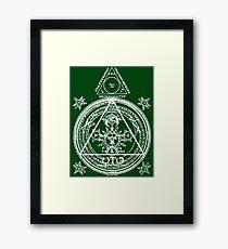 Arcane Circle Framed Print