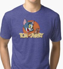 Tom and Jerry Tri-blend T-Shirt