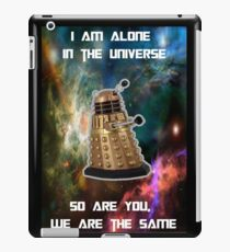 I am alone in the Universe [Nebulosa] iPad Case/Skin