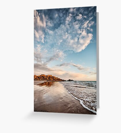One Fine Evening Greeting Card