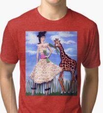 The African Safari Tri-blend T-Shirt