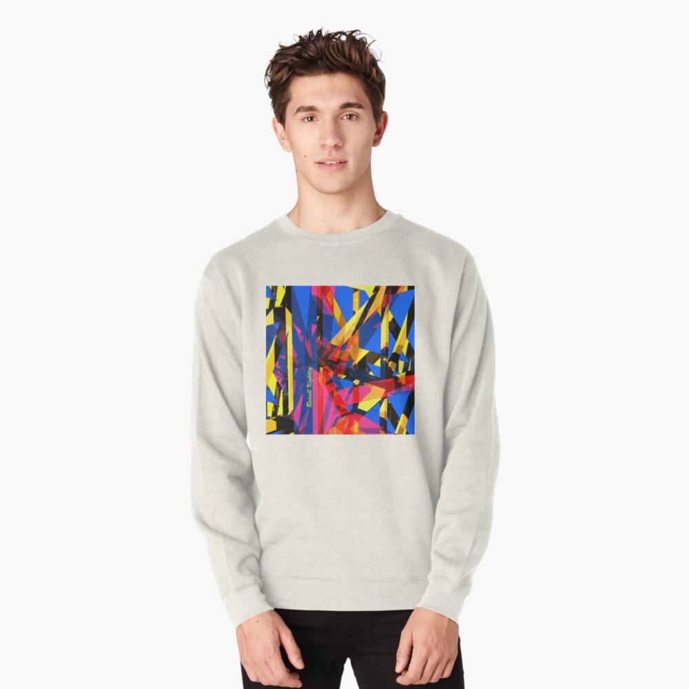 Shatter City Blue Tower Pullover Sweatshirt