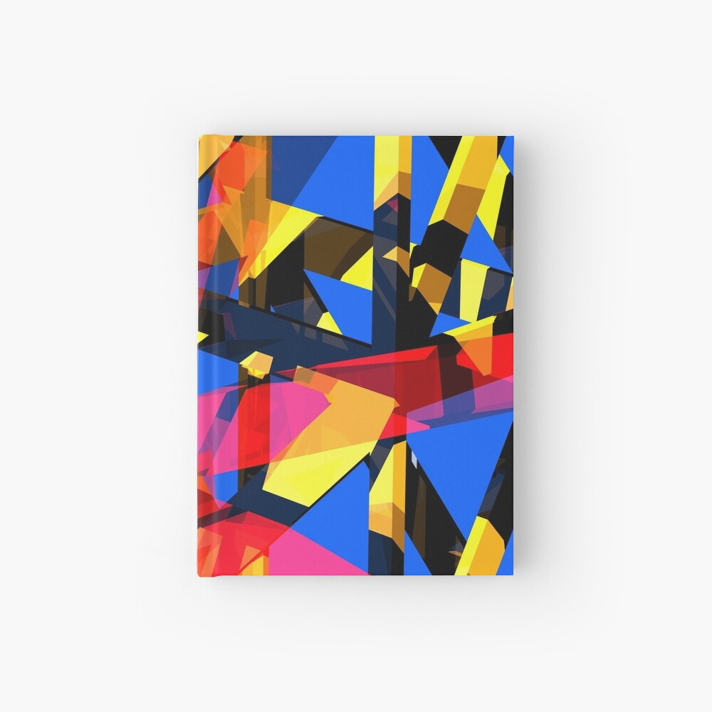 Shatter City Blue Tower Hardcover Journal