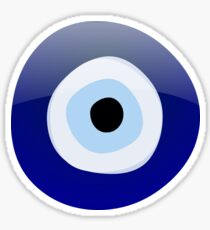 Mediterranean Evil Eye Protection Sticker