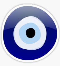 Mediterranean Evil Eye Protection Sticker