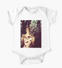 Girl with Bloody Heart Kids Clothes