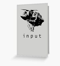 Input Greeting Card