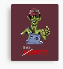 Undead neck Canvas Print