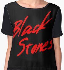 Black Stones (BLAST) Chiffon Top