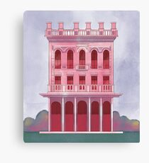 Pink Saloon Canvas Print