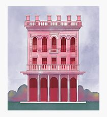 Pink Saloon Photographic Print
