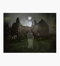 At Midnight in Moonlight Photographic Print