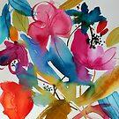 Vibrant Floral by Ann Mortimer