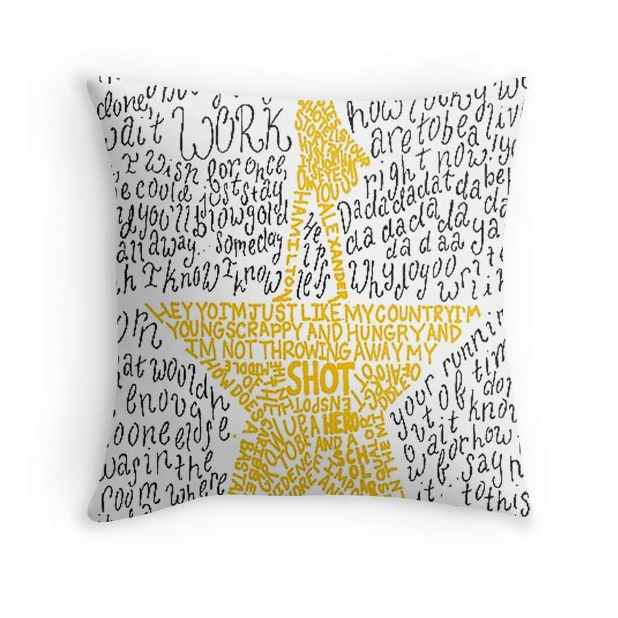 home decor stores hamilton hamilton musical home decor redbubble 11178