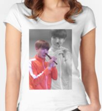 JHOPE FLUTE - FLASHBACK VER Women's Fitted Scoop T-Shirt