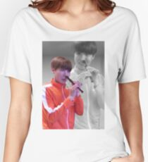 JHOPE FLUTE - FLASHBACK VER Women's Relaxed Fit T-Shirt