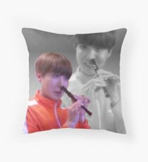 JHOPE FLUTE - FLASHBACK VER Throw Pillow
