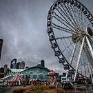 The Wheel at Navy Pier by Steve Baird