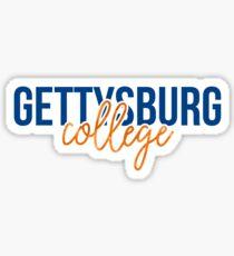 Gettysburg College - Style 13 Sticker