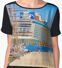 anthem of the seas and sagres Chiffon Top