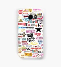 Musicals Samsung Galaxy Case/Skin