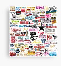 Musicals Canvas Print