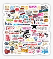 Musicals Sticker