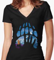 Great Spirits Alt. Women's Fitted V-Neck T-Shirt