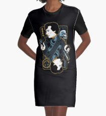 sherlock holmes Graphic T-Shirt Dress
