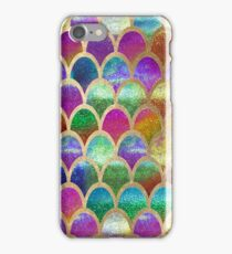 Rainbow mermaid scales iPhone Case/Skin