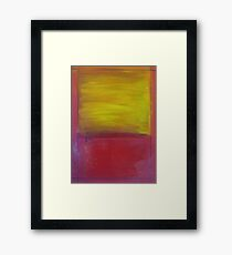 After Rothko Framed Print