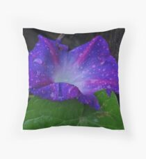 Tears for the Morning Throw Pillow