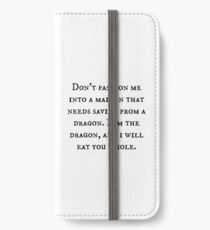Dragon of Feminism 2 iPhone Wallet/Case/Skin