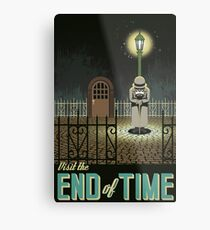 Chrono Trigger End of Time Metal Print