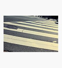 Crosswalk Photographic Print