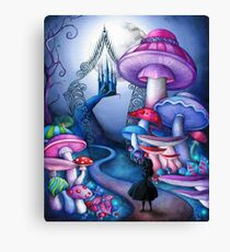 Alice Gates to Wonderland Canvas Print