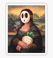 Mona Shyguy Sticker