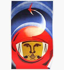 Yuri Gagarin-6 Poster