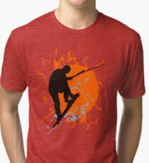 Kite Boarding Tri-blend T-Shirt