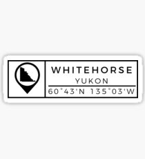 Whitehorse Sticker