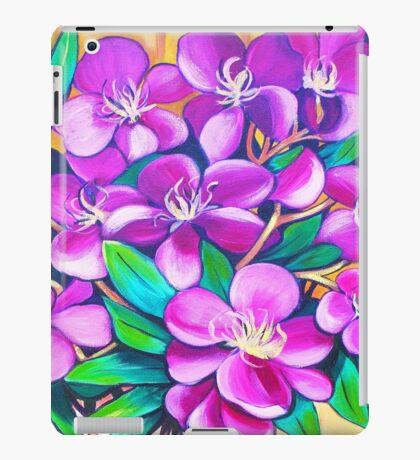 Tibouchina Still Life iPad Case/Skin