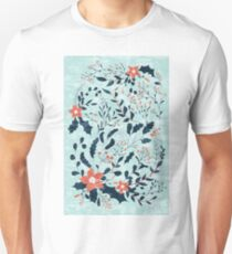 Winter flowers Unisex T-Shirt