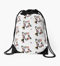 "Punky ""Punk 4 Life"" Brewster Drawstring Bag"