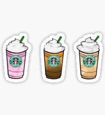 Star Bucks Trio #1 Sticker