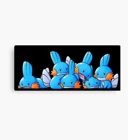 Bundle of Mudkips  Canvas Print