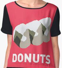 Jelly Donut Women's Chiffon Top