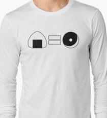 Onigiri = Donut Long Sleeve T-Shirt