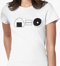 Onigiri = Donut Women's Fitted T-Shirt