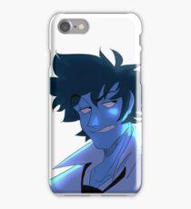 Blue Spike iPhone Case/Skin